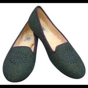 UGG Alloway Tweed Loafers Size 9